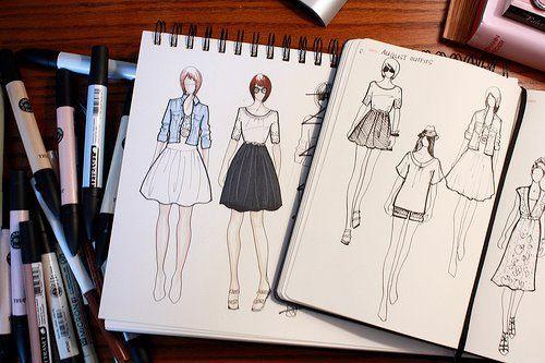 Resultado de imagem para como aprender a desenhar roupas