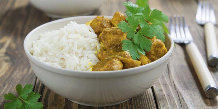 Curry Chicken via @iquitsugar