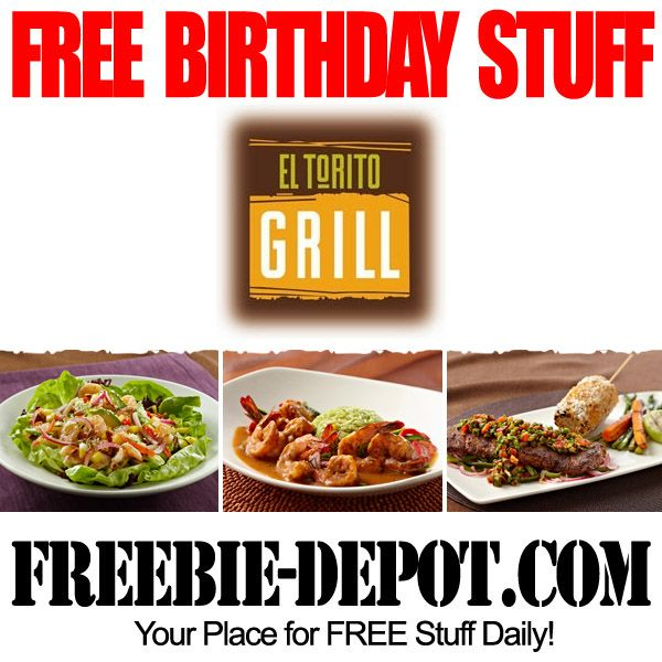 Best 25+ Free Birthday Meals Ideas On Pinterest