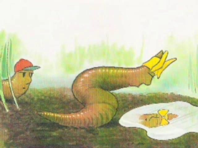 Diary of a Worm by Jim Sheese. Illustration of the use of iMovie (digital video editing) and Photoshop (digital image manipulation) in digital storytelling...