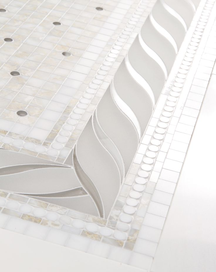 imperium border - Mosaic and Water jet by Mosaique Surface