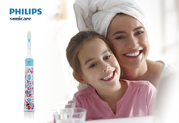 The Philips Sonicare Toothbrush specially designed for kids