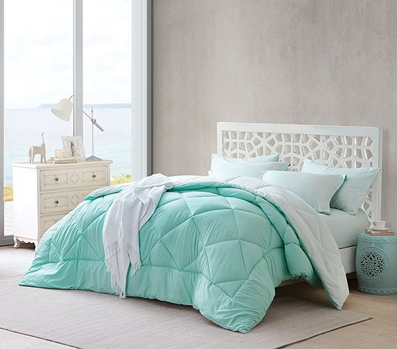 hint of mintyucca reversible twin xl comforter extra long twin comforter twin xl bedding