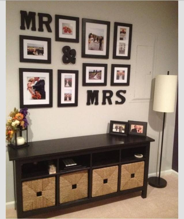 Mr. and Mrs. Photo Decorations
