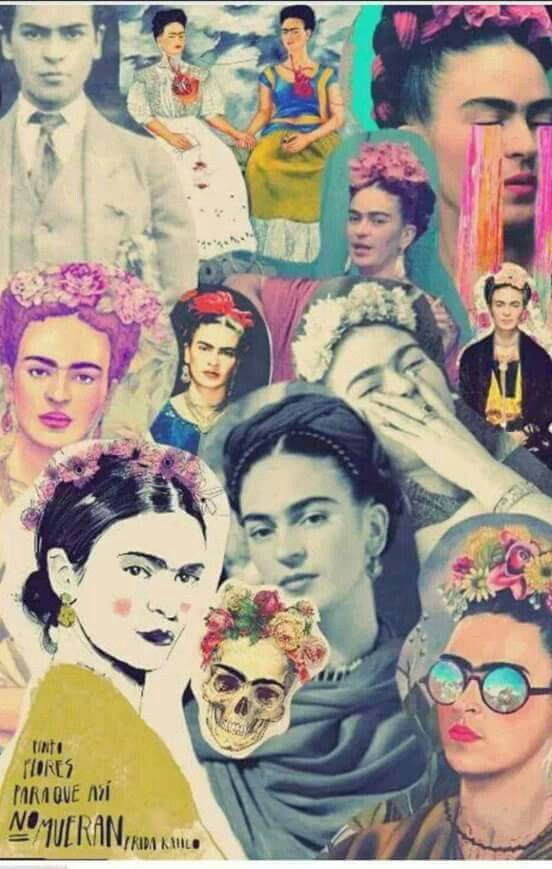 Frida kahlo Collage. #frida #friducha #fridakhalo
