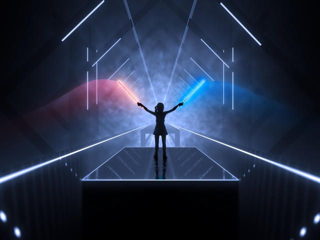 Collection Of Beat Saber Hd 4k Wallpapers Background Photo And Images 4k Background Hd Wallpaper 4k Wallpaper