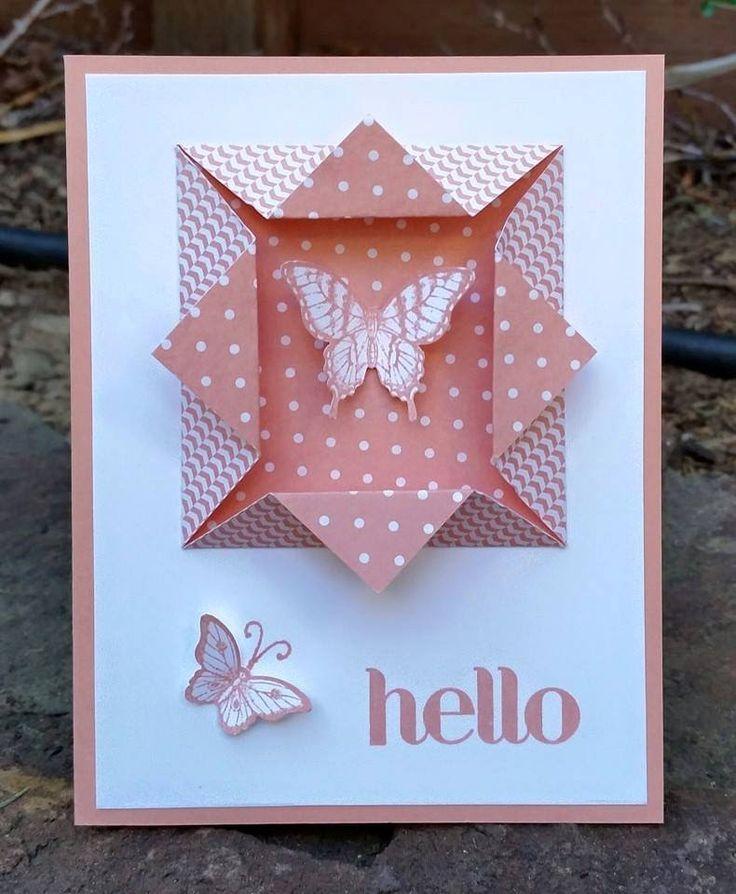 простая открытка оригами своими руками дастина клера уже