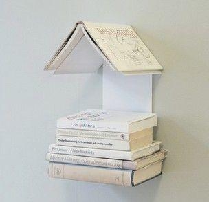10 ideias de Livros na Decoração ~ Arte De Fazer   Ideias de Decoração e Artesanato