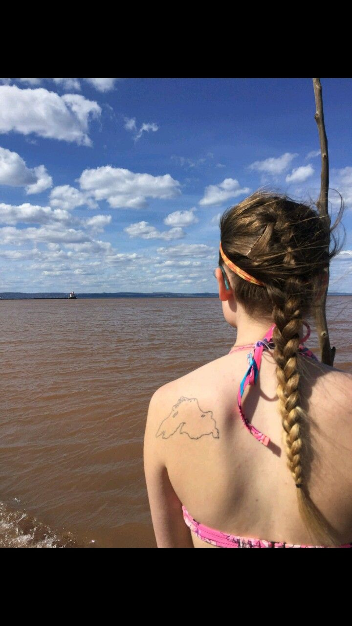 Lake Superior tattoo