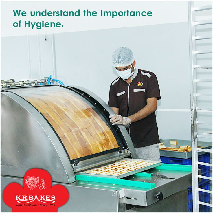 We understand the importance of Hygiene.   #KRBakes #KRBakesSince1969 #BakedWithLove #Hygiene