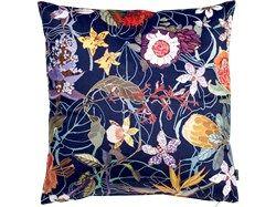 Blue garden cushion