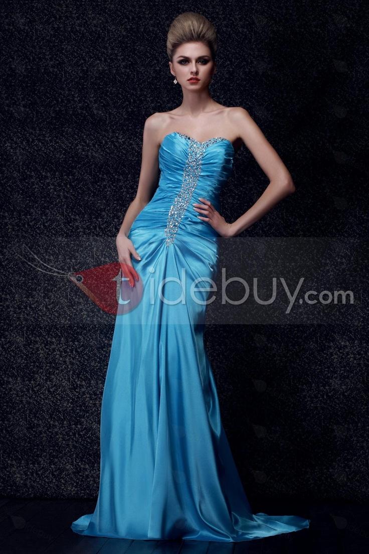 Gorgeous Mermaid/Trumpet Floor-Length Sweetheart Empire Dasha's Evening Dress