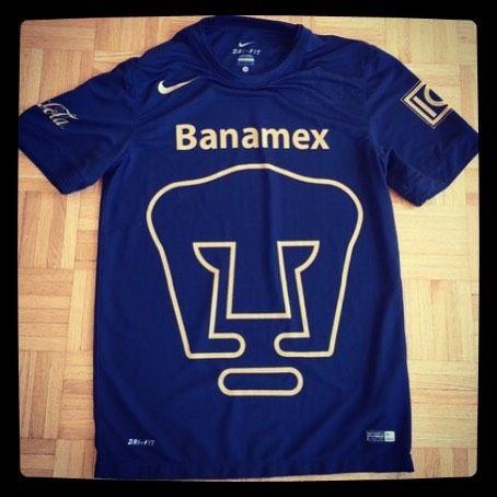 2014/15 Puma UNAM away football shirt S from @rasheedclarke - sick Pumas away shirt now on site for 20 #football #footballkit #footballshirt #footballshirtcollective #soccer #soccershirt #pumas #pumasunam #mexico #nike #nikefootball #kitporn #kitnerd
