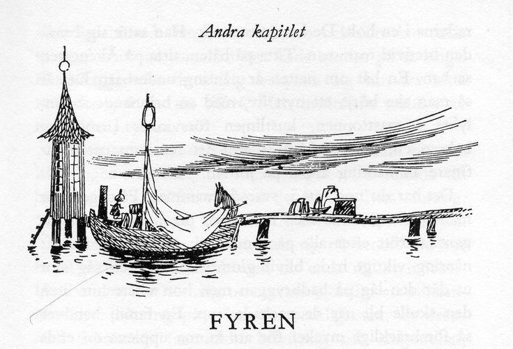 Tove Jansson 1965. Pappan och havet.