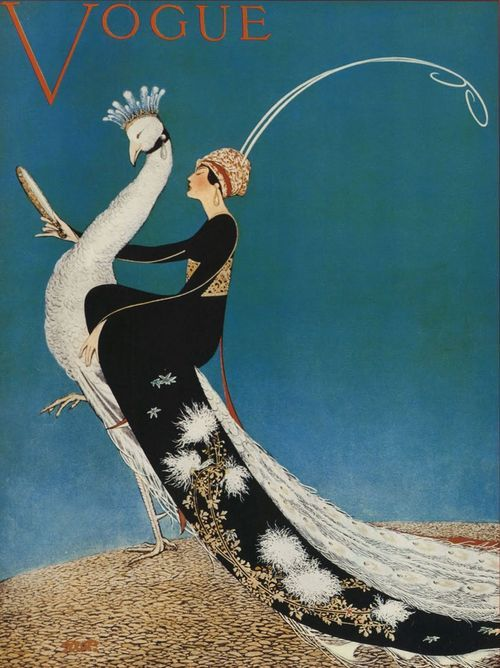 Art deco Vogue Cover