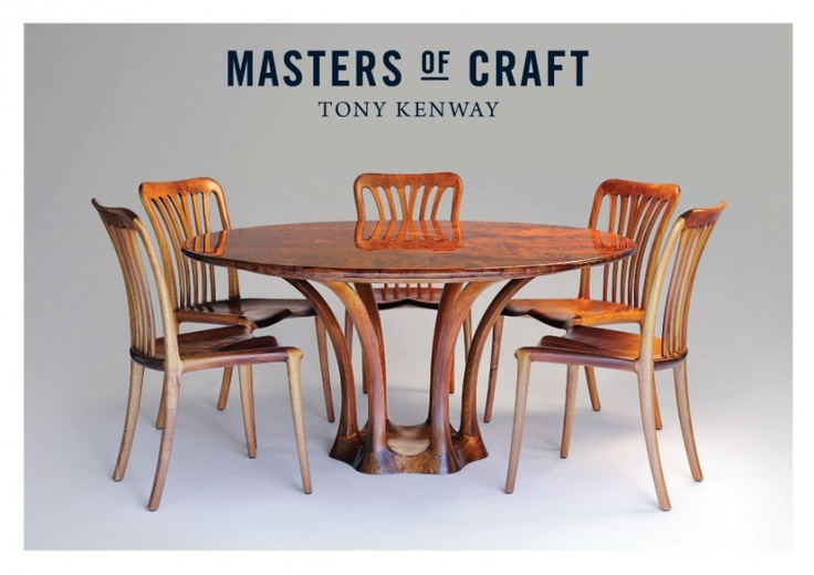 """Cunji"" Dining Suite, Tony Kenway. Bungendore Wood Works Gallery 2013"