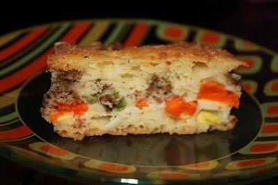 Torta de legumes. #Receitassalgadas
