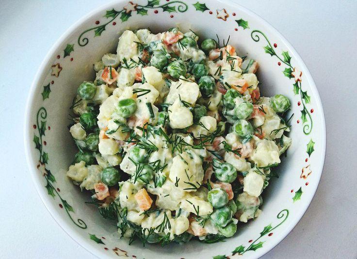 Оливье: ✅замороженный зеленый горошек 100 г ✅морковь 100 г ✅свежие огурцы 100 г ✅натуральный йогурт 50 г ✅авокадо 1/2 шт. ✅горчица 1 ч. л. ✅соевый соус 1 ч. л. ✅куриная грудка 100 г ✅куриное яйцо 1 шт. ✅черный молотый перец по вкусу ✅соль по вкусу  Вымойте морковь и сварите, очистите от кожуры. Сварите яйцо вкрутую и очистите. Разрежьте пополам, отделите белок от желтка. Сложите горошек в сотейник, залейте горячей водой и подержите на огне 5—7 минут. Затем слейте воду. Отварите, запеките или…