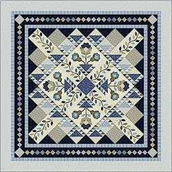 Country Crossing BOM Quilt by Nancy Rink Coming in June!
