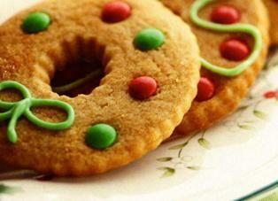 Новогодняя выпечка. Печенье на елку. Рецепт печенья с корицей