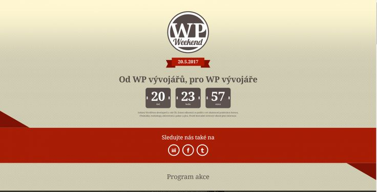 WP Weekend 20.5.2017 vPísku