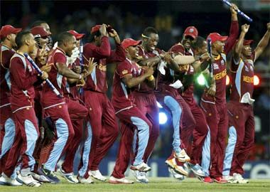 West Indies thrash Sri Lanka by 36 runs to win World Twenty20 title