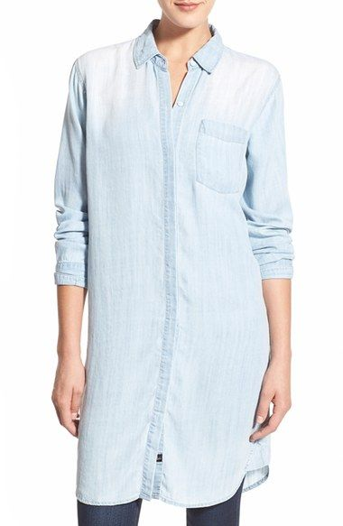 Rails 'Sawyer' Long Chambray Shirt available at #Nordstrom