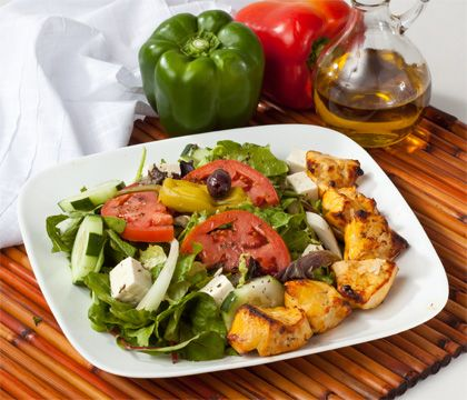 Joojeh Salad Traditional Dishes - Traditional Persian Dishes to Take Out, Catering