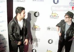 This is what I love. Patrick is too shy to be in it, but Pete makes him feel good, so he joins in. Those are so real friendship goals right there.