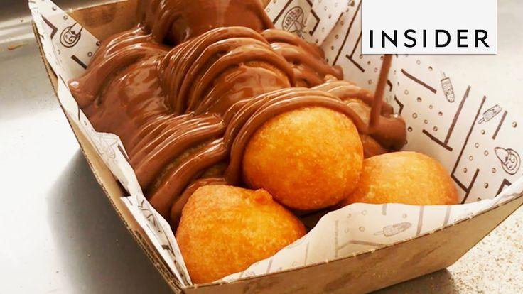 Loukoumades: Deep-Fried Greek Doughnuts