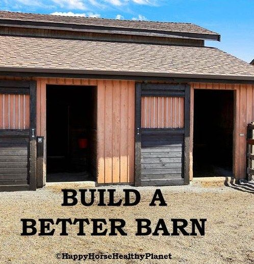 25+ Great Ideas About Horse Barn Designs On Pinterest