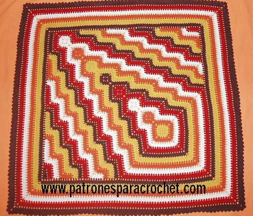 653 best Cubrecamas - Colchas a Crochet - Mantas images on Pinterest ...
