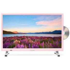 notebooksbilliger Medion P12501 (MD 21501) rosa - 54,6 cm (21,5 Zoll) Fernseher (Full HD, Triple Tuner (DVB T2), DVD…%#Quickberater%