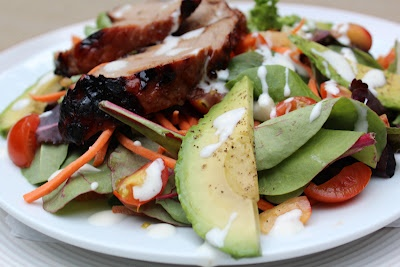 ... Pinterest | Grilled Pork Tenderloins, Salad With Avocado and Cherries