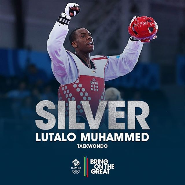 What a champ! Did you see last nights match? Lutalo won silver. #Taekwondo…