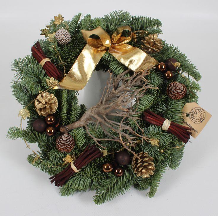 Xmas Amber wreath