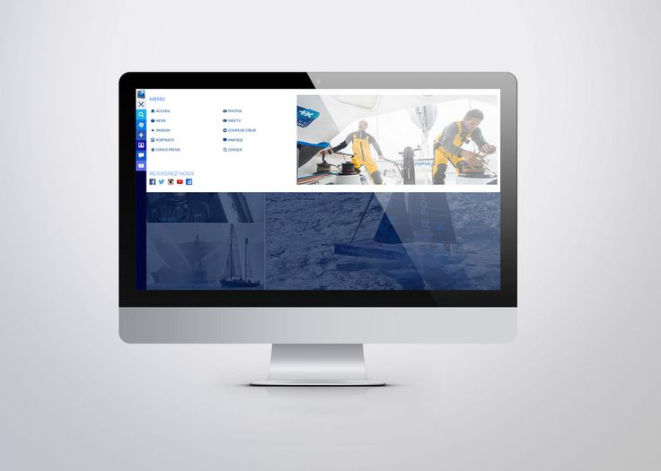 Nouveau site Voile Banque Populaire