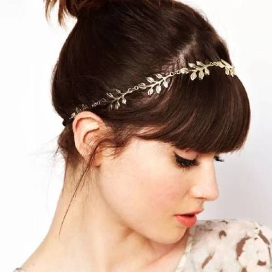 Shopo.in : Buy Golden Metal Leaf Headband online at best price in Gurgaon, India