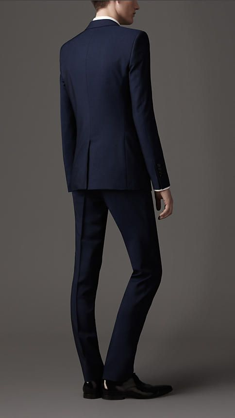 Slim Fit Wool #Mohair Suit | Burberry