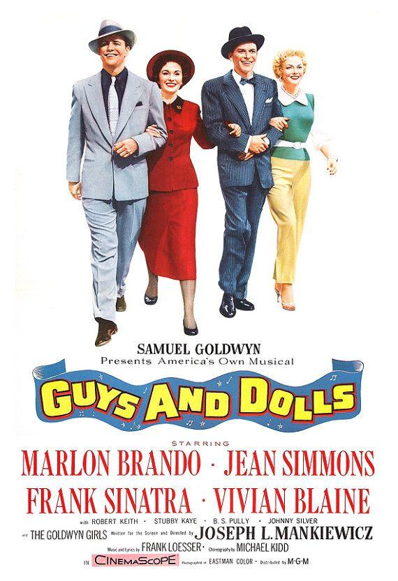 Directed by Joseph L. Mankiewicz.  With Marlon Brando, Jean Simmons, Frank Sinatra, Vivian Blaine. In New York, a gambler is…