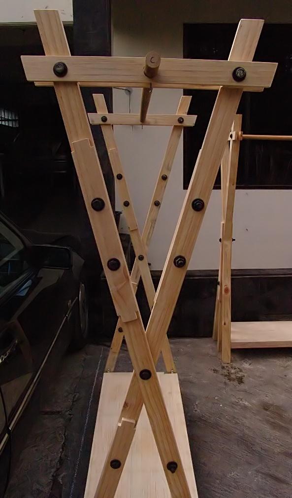 standing hanger X2