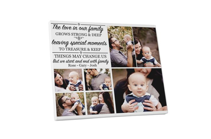 Buy this £10 personalised family collage with a quote for your home at www.essexprintingservice.co.uk