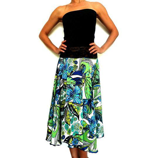 labito è realizzato charmeuse di seta floreale verde e top bustier nero elastico jaquard. cintura è rifinito con pizzo nero AUBADE bella facile da indossare, elegante e accentuare il movimento del corpo   si adatta: M L  busto 75cm stretch a 88cm/29,5 -34,6 Stretch: vita 70cm a 80cm/27.5 -31,5 gonna lunghezza circa 68cm/23.6    Cura listruzione: Lavare a mano in acqua calda e fredda con sapone/shampoo delicato   Si prega di leggere il negozio MIRADA politica prima dellacqu...