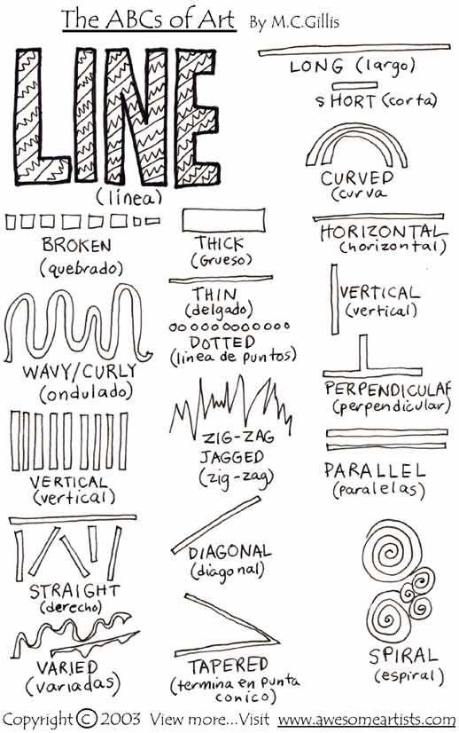 Line art-printables