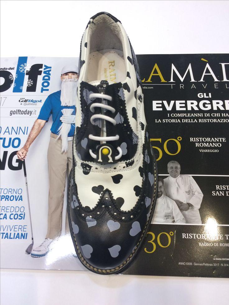⛳ ♀ #raimondigolfshoes #golfshoes #italiangolfshoes #madeinitaly  #handmadeinitaly #italianstyle