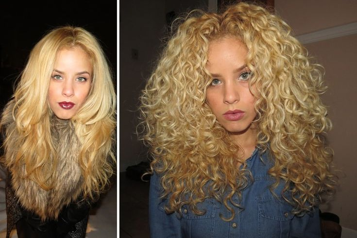 20 Before-and-After Pictures of Real Girls Who Finally Learned to Love Their Curly Hair