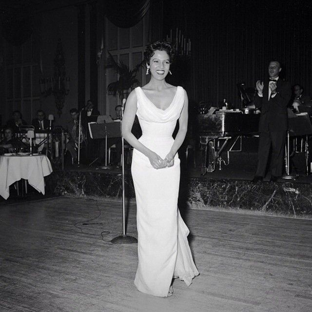 Dorothy captured during a performance on May 7, 1955. This ...