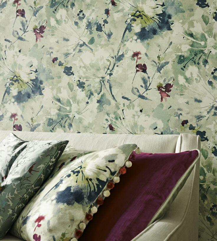 Simi Wallpaper by Sanderson | Jane Clayton