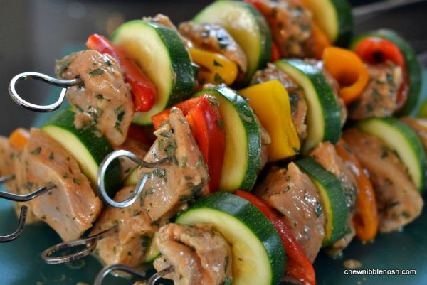 Lemony Moroccan-Style Chicken Kebabs Recipe — Dishmaps
