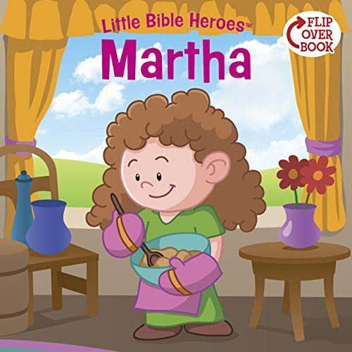 Martha (Little Bible Heroes™):   DIVIf your child loves hero stories, there's no better place to find them than the Bible! In these pages, read about Martha and the big lesson she learned about serving Jesus.BR / BR / Then read the rest of the stories in the Little Bible Heroes™ series. Each book offers a story of bravery, faithfulness, or kindness—straight from the Bible and perfect for little hero-loving hearts!BR / BR / Collect all 16 Little Bible Heroes™ stories:BR /ICreation/IBR...